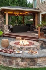 images fire pit pinterest patio