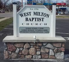 West Milton Baptist Church