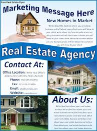 real estate flyer template   real estate flyer template