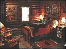 Rustic Cabin Bedroom Decorating Cottage Themed Bedroom