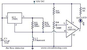 air flow detector circuit electronic circuits and diagram Flow Switch Connection Diagram air flow detector_circuit jpg flow switch wiring diagram