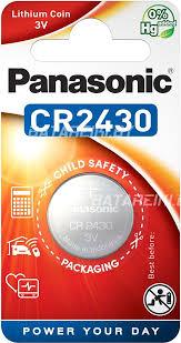 Купить <b>батарейку</b> Panasonic Lithium <b>CR2430</b> в Минске
