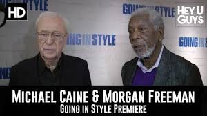 going in style premiere interview michael caine morgan man going in style premiere interview michael caine morgan man