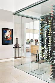 room modern camille glass: so maybe this modern glass wine cellar is going a bit far