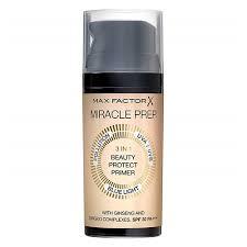<b>Праймер для лица</b> `MAX FACTOR` <b>MIRACLE</b> PREP 3 в 1 купить в ...