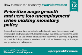 an economy that works for everyone starts women epi womens agenda policy12