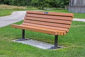 park benches browse cement furniture