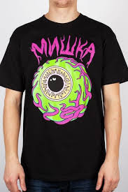 <b>Футболка MISHKA</b> Vermilyea Keep Watch T-Shirt (Black, L ...