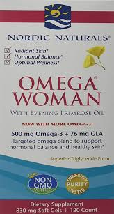 Nordic Naturals <b>Omega Woman</b>: Amazon.co.uk: Health & Personal ...