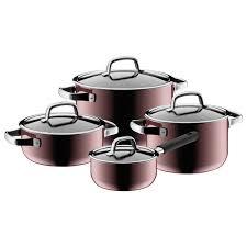 Купить <b>Набор посуды</b> WMF FUSIONTEC Rose Quartz <b>4 пр</b> ...