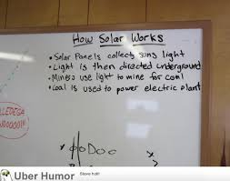 I work on a solar farm. One of our electricians left this message ... via Relatably.com