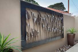 designs outdoor wall art: outdoor wall art metal large home design ideas