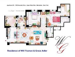 images about Famous Floorplans on Pinterest   Mark Bennett    Spanish artist and interior designer Iñaki Aliste Lizarralde draws these famous house and apartment floor plans