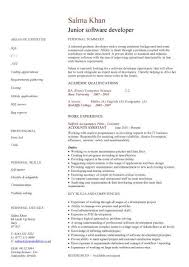 Europass CV Sample Perfect Resume Example Resume And Cover Letter