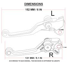 Motocross Dirt bike Pit bike CNC Pivot <b>Foldable</b> Clutch Brake Lever ...