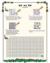 Cat and Rat – Fun Geometry Worksheet for Third Grade – Math BlasterCat and Rat - Printable Geometry Worksheet for Kids
