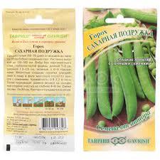 <b>Семена Горох</b> Сахарная подружка, 10 г, в цветной упаковке Гавриш