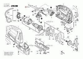 Запчасти для <b>лобзика Bosch GST</b> 75 BE (3601E8E000). SelTop.ru