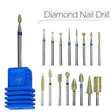 """FARMERLY <b>1pcs</b> Diamond <b>3</b>/<b>32"""" Shank Nail</b> Art Electric Drill Bit ..."""