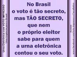 Resultado de imagem para urna eletronica fraude 2014