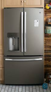 black appliance matte seamless kitchen: add a truly unique look to your kitchen with a slate refrigerator unlike stainless steel
