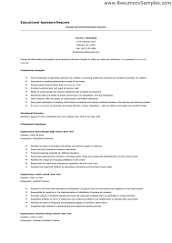 teaching assistant resume   sales   assistant   lewesmrsample resume  educational assistant resume template
