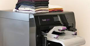 Foldimate's <b>laundry</b>-<b>folding machine</b> actually works now - The Verge