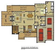 Two Story Cottage House Plan   Olde Stone CottageFloor Plans