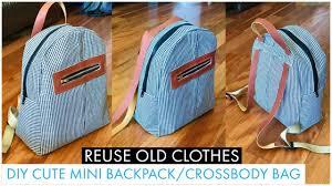 DIY BAG/<b>MINI BACKPACK</b>/CROSSBODY-<b>SHOULDER</b> BAG/BOLSA ...