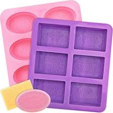 Amazon.com: Loves <b>Soap</b> Mold - <b>21pcs</b> Square Round Oval ...