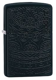 <b>Зажигалка Black Matte Tone</b> on Tone Design ZIPPO 29989 в ...