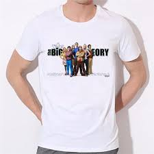 The <b>Big</b> Bang Theory Tshirts <b>Men Letter Printed</b> Funny Short Sleeve ...
