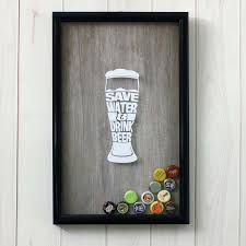 "<b>Копилка для пивных крышек</b> и пробок ""Save water and drink beer ..."