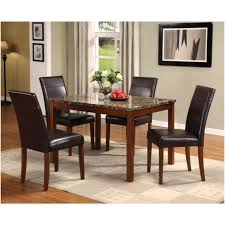 Dining Room Tables Portland Or Acme Furniture Industry Portland 5 Pieces Dining Set With Brown