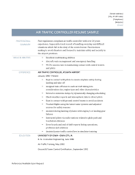 air traffic controller resume template and job description air traffic control resume sample and job description