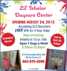childcare centers in polk county polk fl daycare and preschools lil scholar daycare center