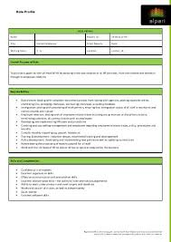 role profile overall purpose of role to provide support alpari uk alpari offices 201 bishopsgate offices london office