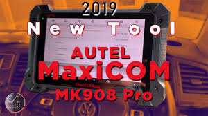 <b>2019 MaxiCOM</b> MK908 Pro <b>New</b> tool - YouTube