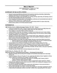 examples of resumes resume examples sample summary statement for resume sample intended for 93 enchanting summary resume sample