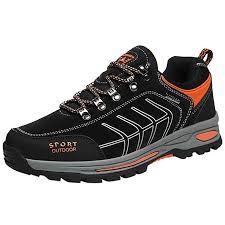 Men's Large Size Outdoor Hiking Shoes Non-Slip ... - Amazon.com