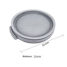 4 Pack HEPA Filters for Xiaomi Mijia SCWXCQ01RR <b>Roborock H6</b> ...