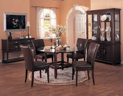 elegant square black mahogany dining table:  images about dining room on pinterest solid wood flooring small dining rooms and dining room inspiration