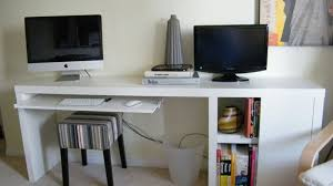 most popular featured workspaces of 2012 awesome office narrow long computer desk