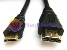 <b>Аксессуар Espada</b> mini <b>HDMI 19M</b> to <b>HDMI 19M</b> v1.4 1.8m ...