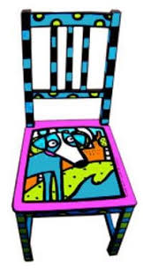 funky hand painted furniture hand painted chair carolyn funky furniture