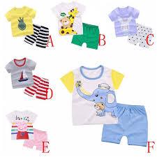<b>Korean Children</b> Summer Wear T-shirt Sleeve Short <b>Set Baby Kids</b> ...