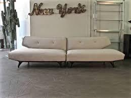 awesome seductive two piece italian sofa with sculptural ebonized legs with italian sofa awesome italian sofas