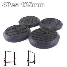 <b>Universal 4Pcs</b> 125mm Round Rubber Arm Pads lift pad Rubber ...