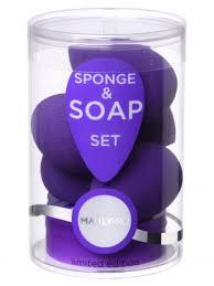MANLY PRO <b>Набор бьюти спонжей</b> (5 шт) <b>плюс</b> мыло для ...