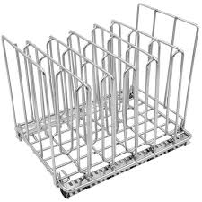 Best Sous Vide Container Rack - Chrome <b>Stainless Steel</b> Dividers (5 ...